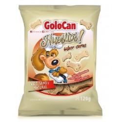 Huesitos sabor carne Golocan 120g