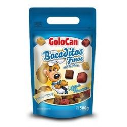 Bocaditos Finos carne pollo y chocolate de Golocan 500g