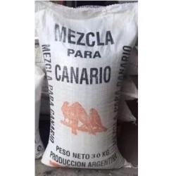 Bolson de Semillas para Canario Con vitaminas x 25 kg