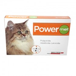 Power Met para gato de 4 a 8 kg