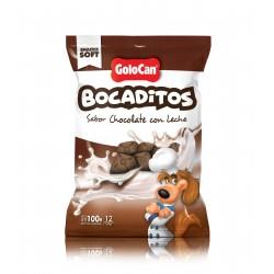 Bocaditos sabor chocolate con leche de Golocan 100g