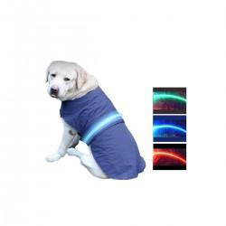 Capa para perro LED