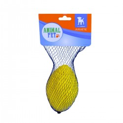 Juguete pelota de Rugby - Amarillo