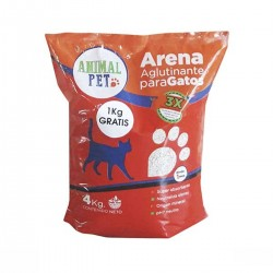 Piedras Aglomerantes Animal Pet x 4 Kg