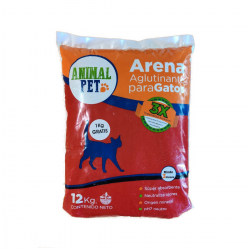 Piedras Agloremantes Animal Pet x 12 Kg