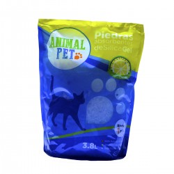 Animal Pet Silica Gel x 3,8 Lts - Limon