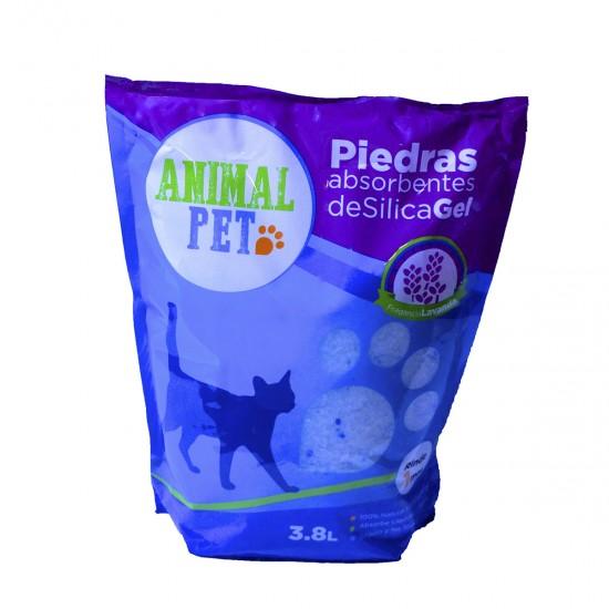 Animal Pet Silica Gel x 3,8 Lts - Lavanda