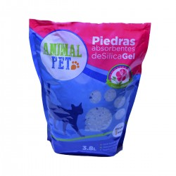 Animal Pet Silica Gel x 3,8 Lts - Floral