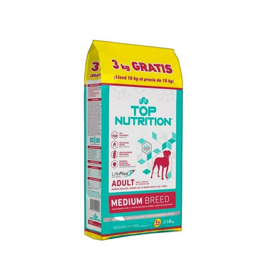 GEPSA Top Nutrition Adulto Medium 15+3 kg de Regalo