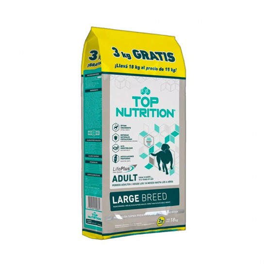 Top Nutrition Puppy Large x 15+3 kg