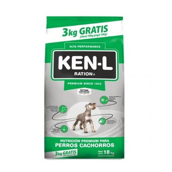 Ken-L Perro Cachorro x 15+3 kg