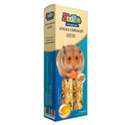 Sticks Hamster Cereales Est con 2 barras