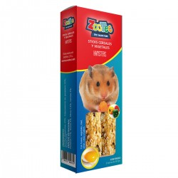 Sticks Hamster Vegetales Est Con 2 Barras