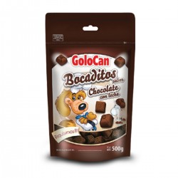 Bocaditos sabor chocolate con leche de Golocan 500g
