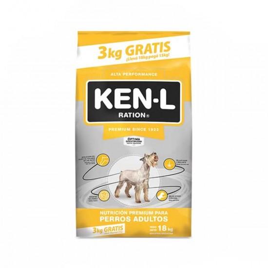 GEPSA Ken-L Perros Adultos 15+3 kg de Regalo