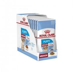 Royal Canin Alimento Húmedo para Perro Medium Puppy  Pouch 140gr x 10u