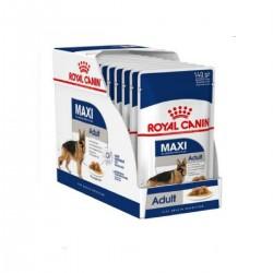 Royal Canin Alimento Húmedo para Perro Maxi Adulto  Pouch 140gr x 10u