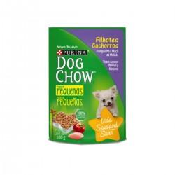 Purina DOG CHOW Cachorro Raza Pequeña Pollo y Manzana x 100g