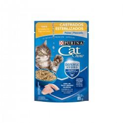 Purina Cat Chow Castrados Esterilizados Pescado Pouch x 85 grs