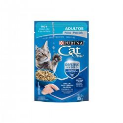 Purina Cat Chow Adultos Pescado Pouch 85 grs