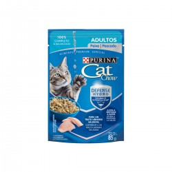 Purina Cat Chow Adultos Pescado Pouch x 85 grs
