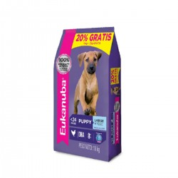 Eukanuba Alimento para Perro Puppy Large Breed 15 + 3 Kg Regalo