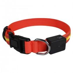 Collar LED - Naranja Neón