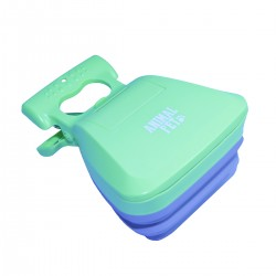 Pala higienica plastico - silicona - Verde