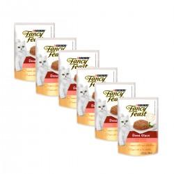 Purina Fancy Feast Demi Glace Salmón caja (15 x 85 grs)