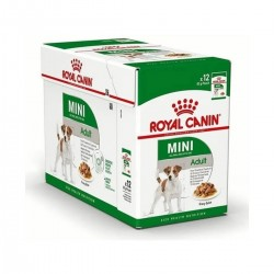 Royal Canin Alimento Húmedo para Perro Mini Adulto  Pouch 85gr x 12u