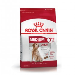 Royal Canin Alimento Seco para Perro Medium Adulto 7+