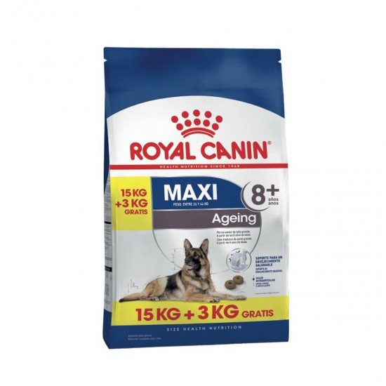 Royal Canin Maxi Ageing 8+ x 15kg+3kg