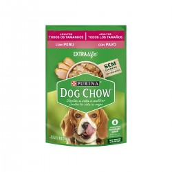 Purina Dog Chow Pavo Pouch x 100 grs