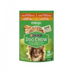 Purina Dog Chow Adulto Razas Pequeñas Pavo y Pollo Pouch 100 grs