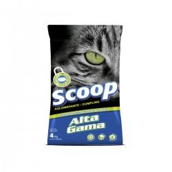 Granulado Higiénico para gatos Alta Gama Scoop x 4 kg