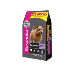 Eukanuba Alimento para Perro Adulto Small Breed  3 +  600 GRS Regalo