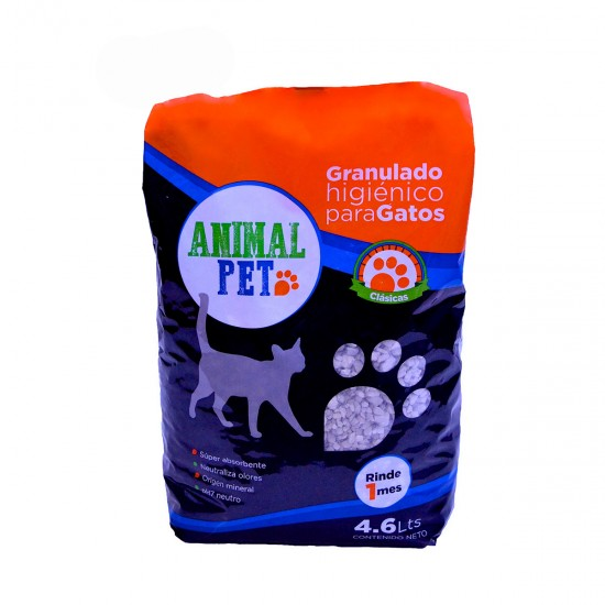 Animal Pet Piedras Sanitarias Bolson 4.6 lts x 8 u.