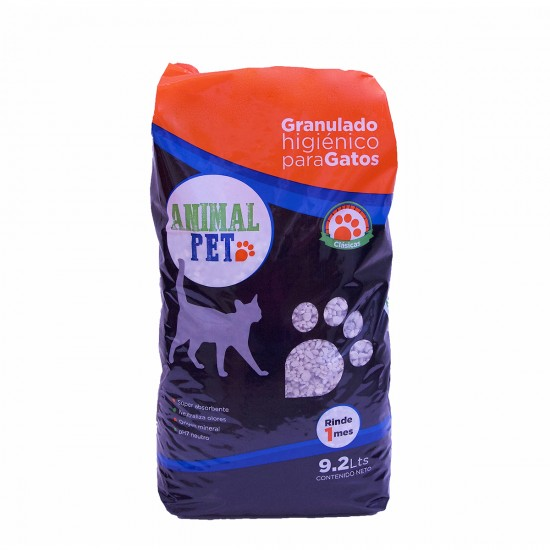 Animal Pet Piedras Sanitarias Bolson 9.2 lts x 5 u.