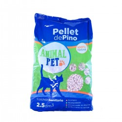 Animal Pet Pellets de Pino Bolson 5 kg x 5 u.