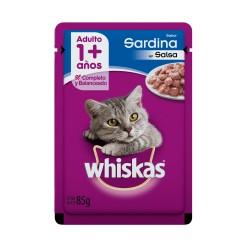 Pouch Whiskas Gato Adulto x 85 g