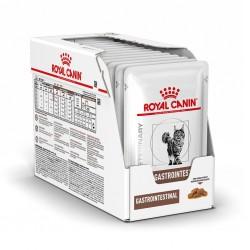Royal Canin Alimento Húmedo para Gato GastroIntestinal Feline  Pouch 100gr x 12u