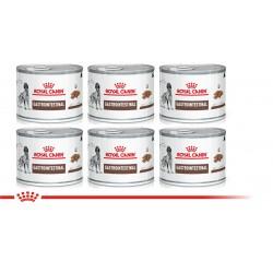 Royal Canin Alimento Húmedo para Perro Gastrointestinal Canine  Lata 200gr x 6u
