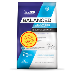 Vital Can Balanced Perro Adulto Raza Grande 20 kg + 3 kg de Regalo