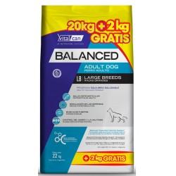 Vital Can Balanced Perro Adulto Raza Grande 20 kg + 2 kg de Regalo