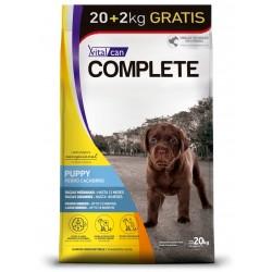 Vital Can Complete Perros Cachorros Razas Medianas y Grandes 20 + 2 kg de Regalo