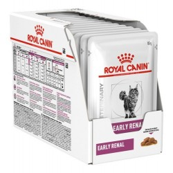 Royal Canin Alimento Húmedo para Gato Early Renal Pouch 85 gr x 12u